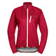 VAUDE Drop III Giacca Donna rosso
